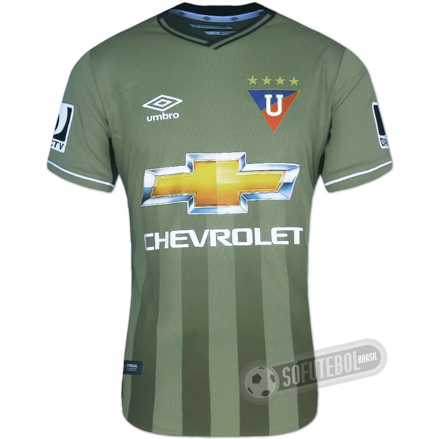 Camisa LDU (Liga Deportiva Universitaria) - Modelo II. Carregando. d1fa4e8e2b9af