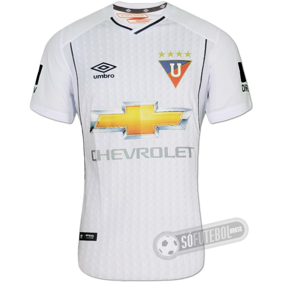 Camisa LDU (Liga Deportiva Universitaria) - Modelo I. Carregando. 9ebd92a4bed70