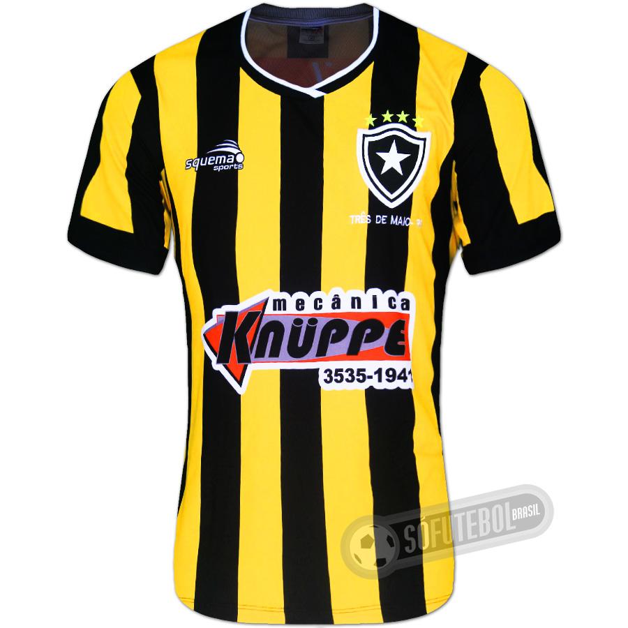 f1342d5c1db65 Camisa Botafogo de Três de Maio - Modelo III