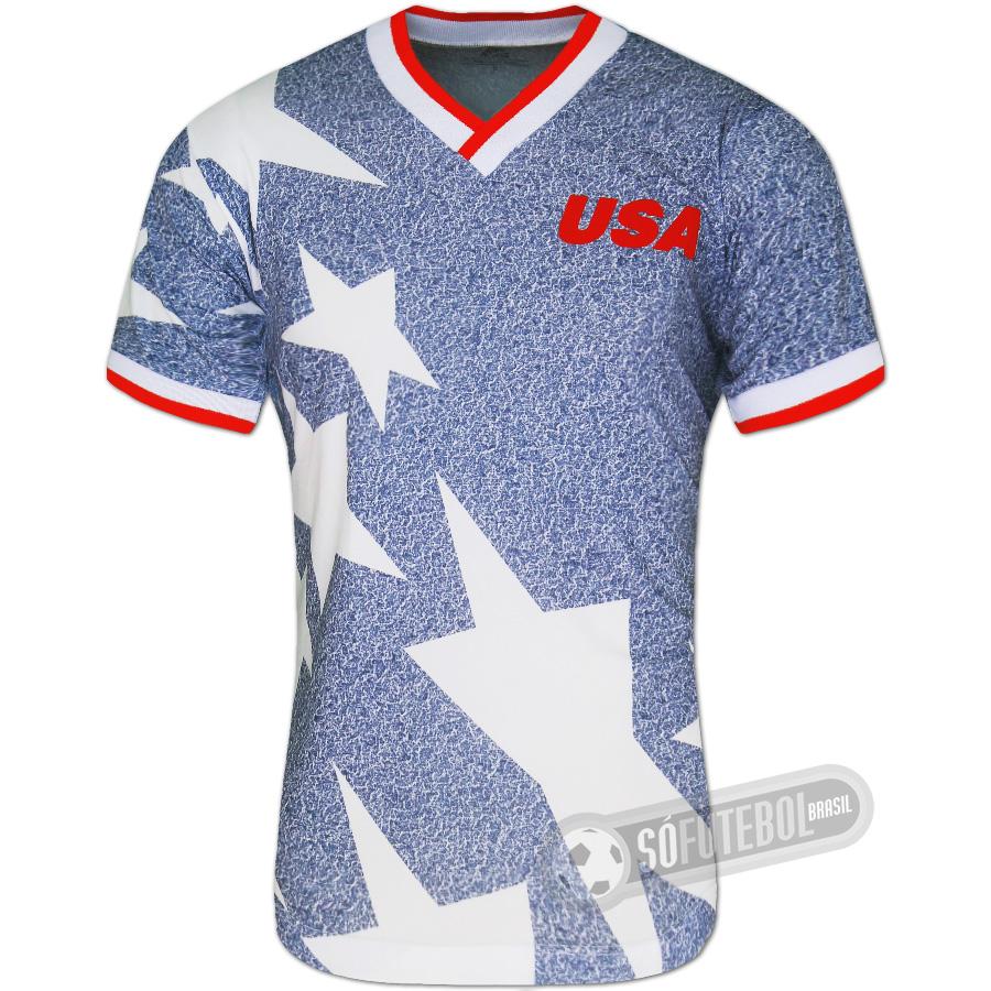 Camisa Estados Unidos 1994 - Modelo I. Carregando. 8309038410ba4