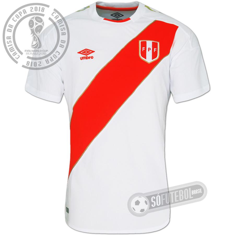 692dd5505a Camisa Peru - Modelo I. Carregando.