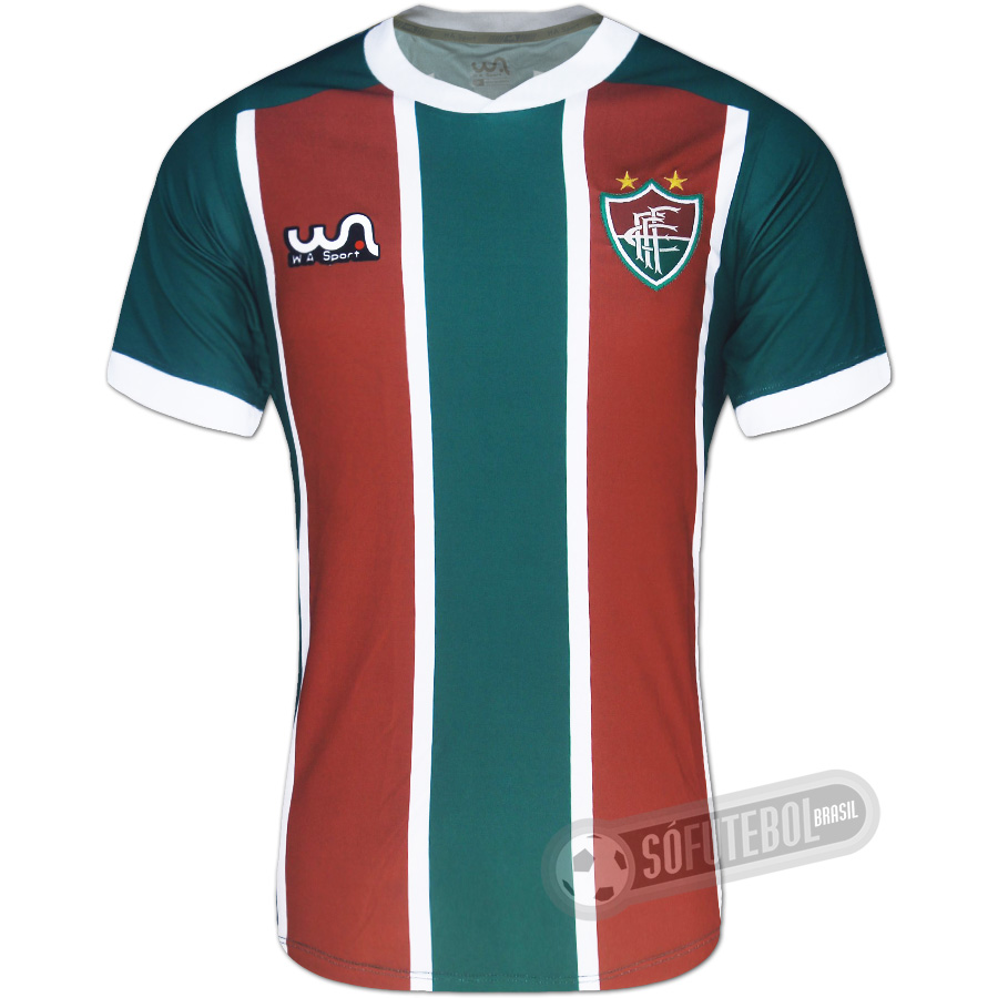 732a9cea2b Camisa Fluminense de Feira de Santana - Modelo I. Carregando.