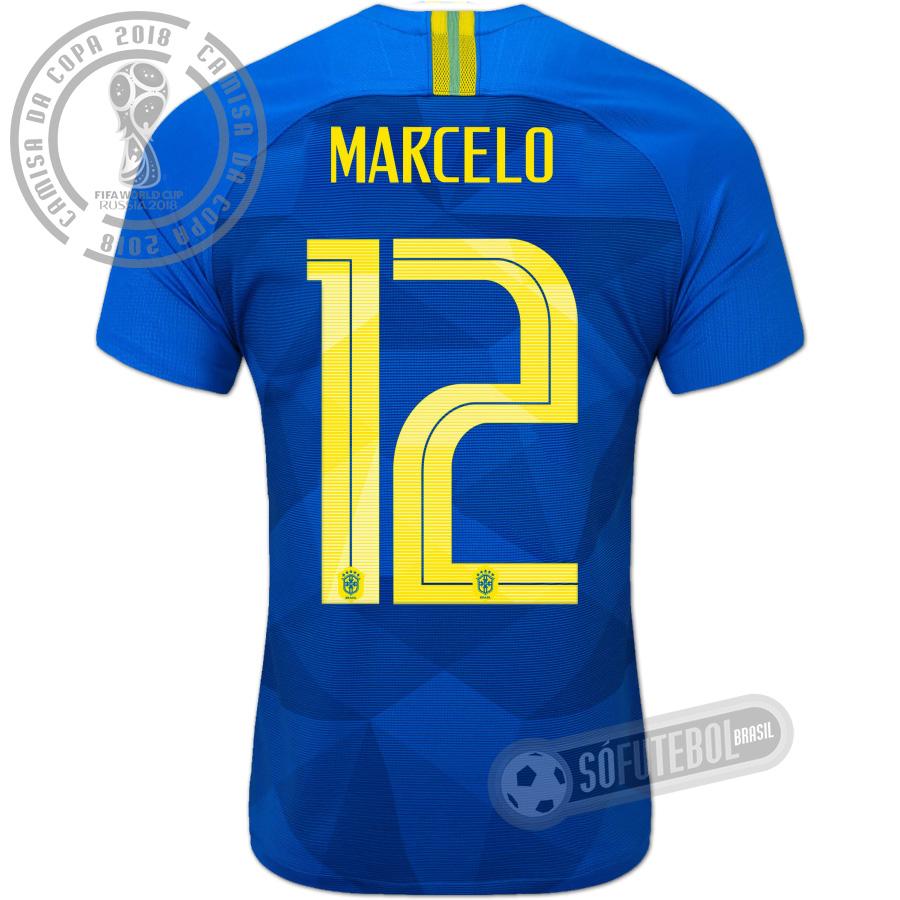 517c94533f Camisa Brasil - Modelo II (MARCELO  12)