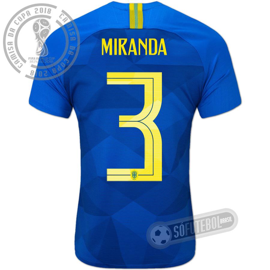 e99d0b3e4b Camisa Brasil - Modelo II (MIRANDA  3). Carregando.