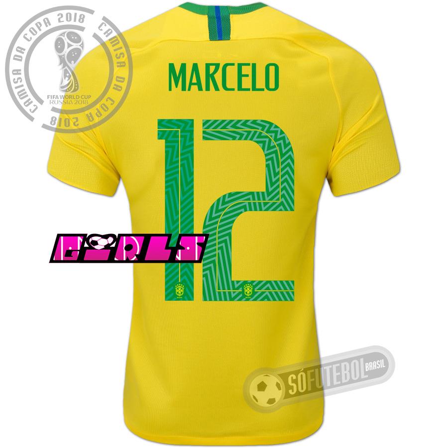 65a638394 Camisa Brasil - Modelo I Feminina (MARCELO  12)