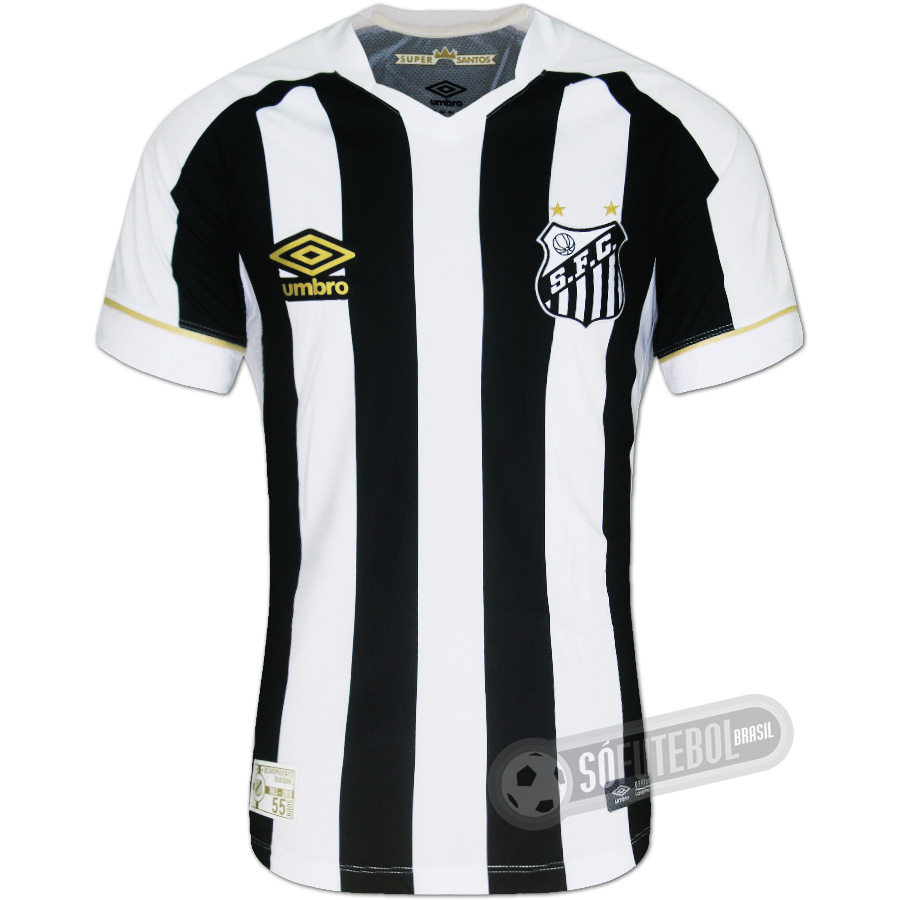 fd2fa465c79b8 Camisa Santos - Modelo II. Carregando.