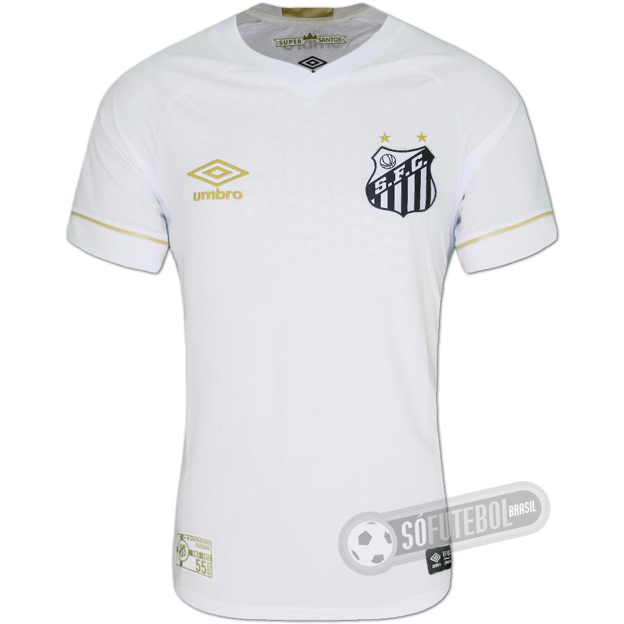 Camisa Santos - Modelo I. Carregando. fad0402534b11
