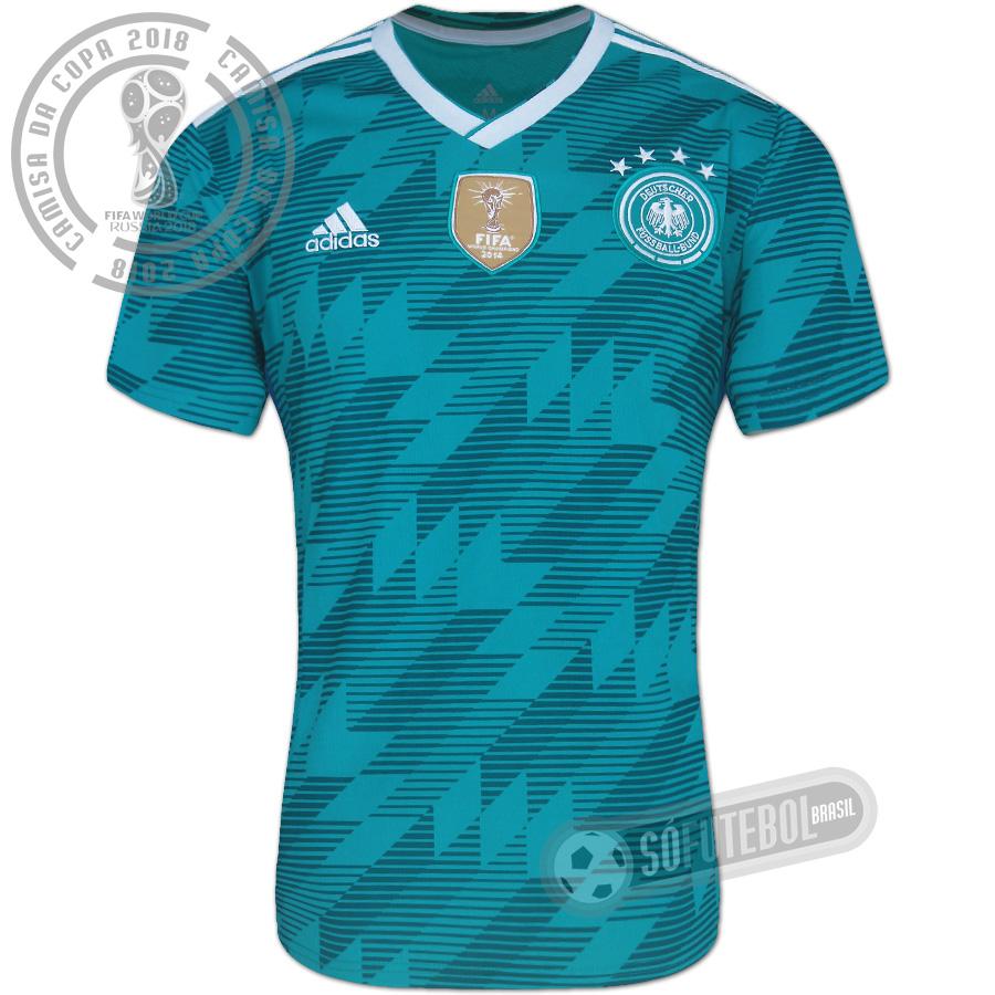 ca3a323000 Camisa Alemanha - Modelo II. Carregando.