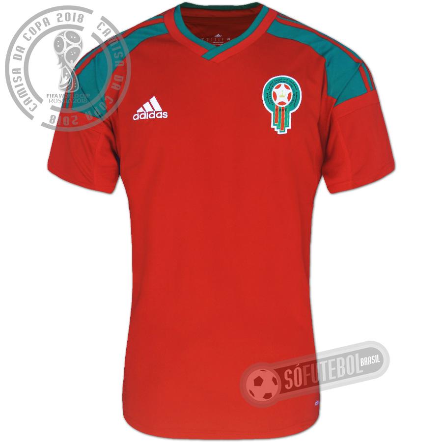 Camisa Marrocos - Modelo I. Carregando. 186399d36b886