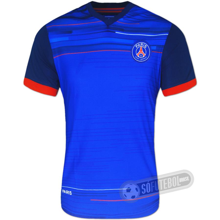 cb8d139b4434a Camiseta PSG (Paris Saint Germain). Carregando.