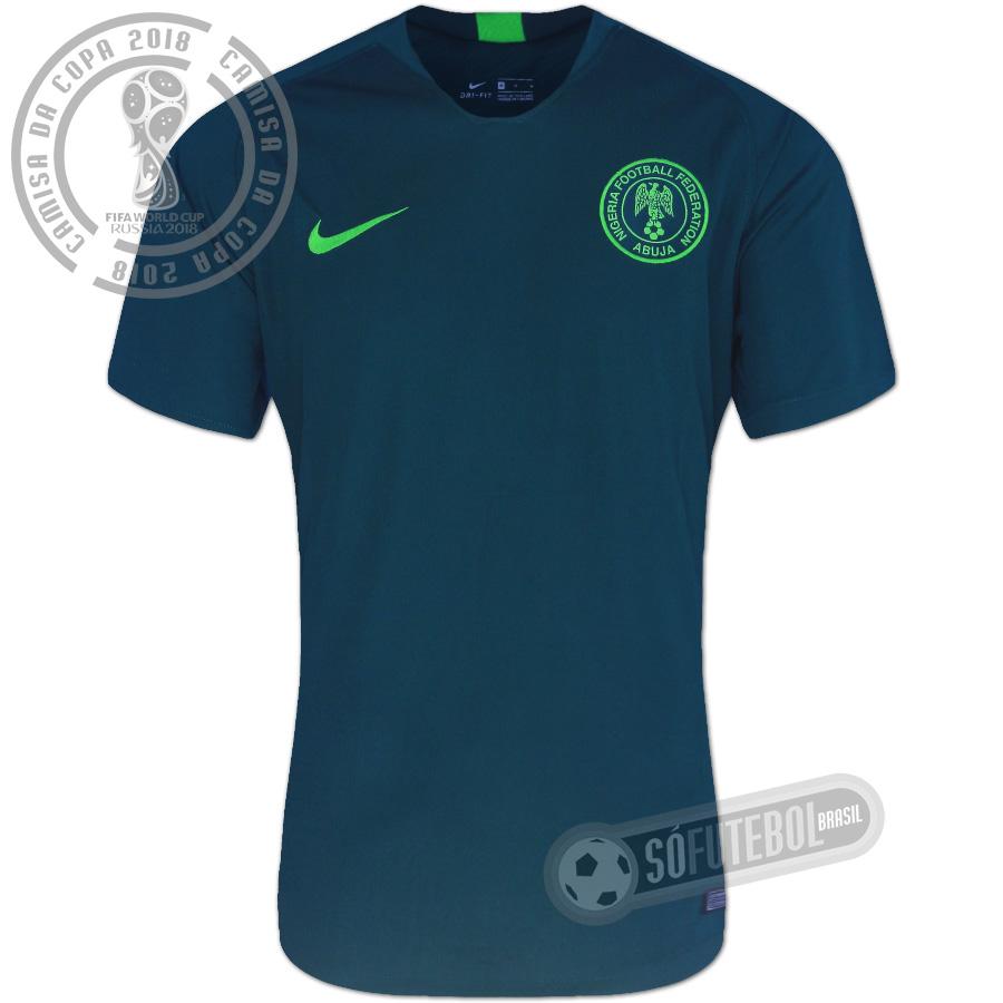 eb90bad7e5 Camisa Nigéria - Modelo II. Carregando.