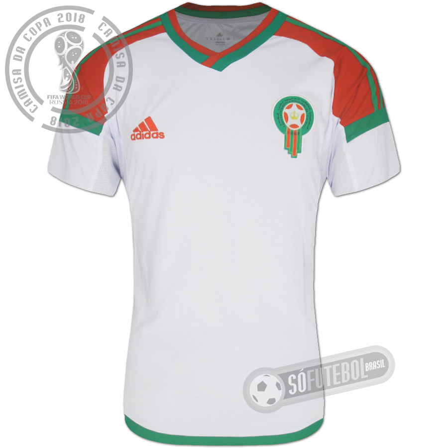 Camisa Marrocos - Modelo II. Carregando. c4d7c5bcc416b