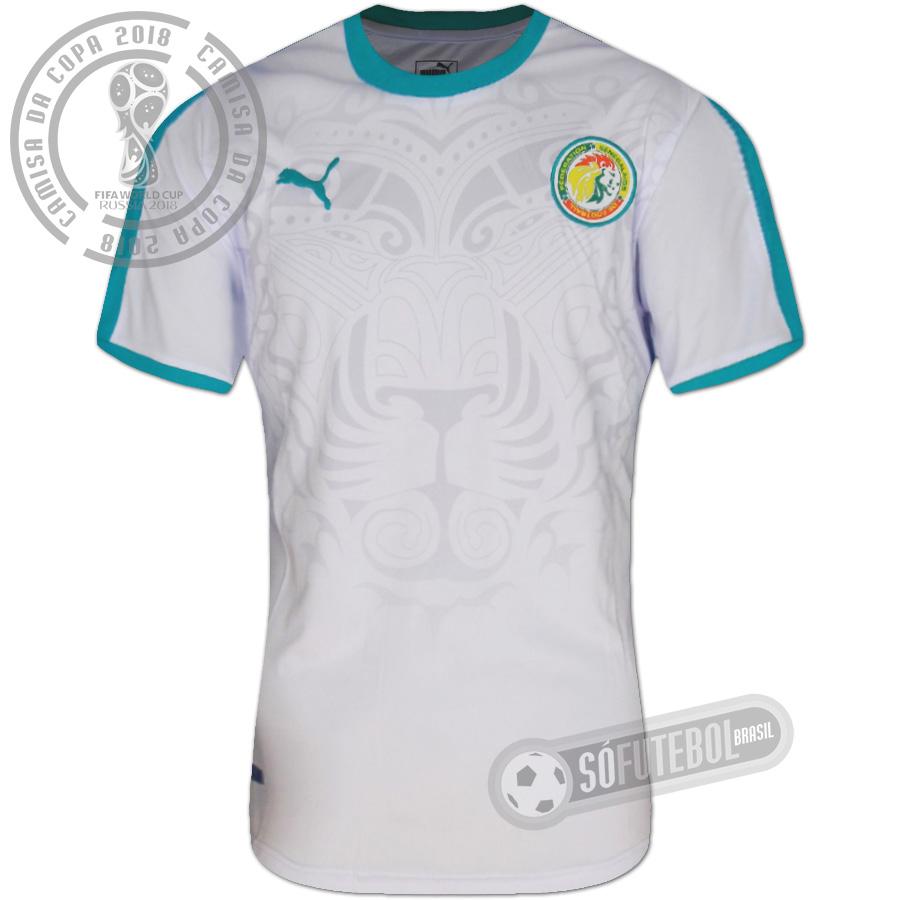 ac225f6f1f Camisa Senegal - Modelo I. Carregando.