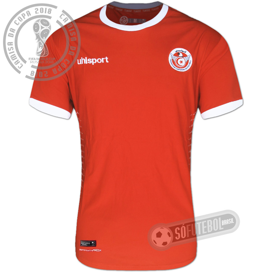 50d50510f3 Camisa Tunísia - Modelo II. Carregando.