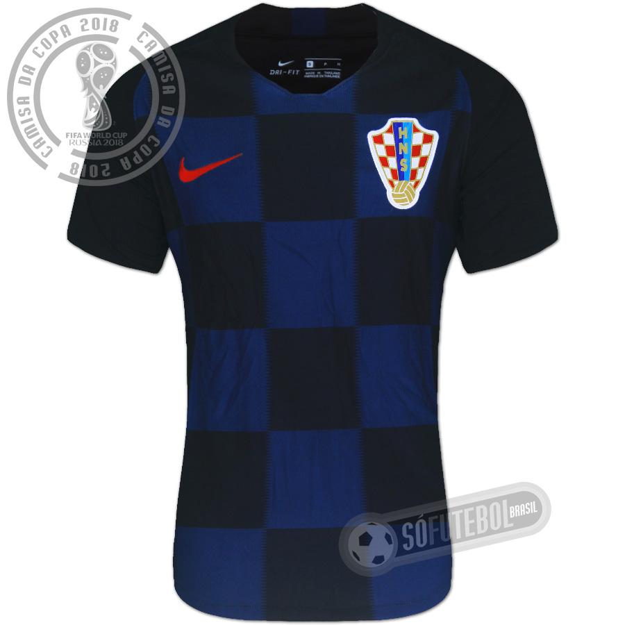 Camisa Croácia - Modelo II. Carregando. 5d9d7fe672c65
