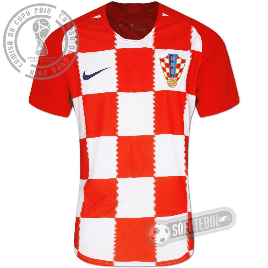 Camisa Croácia - Modelo I. Carregando. e251ddf90d7e1