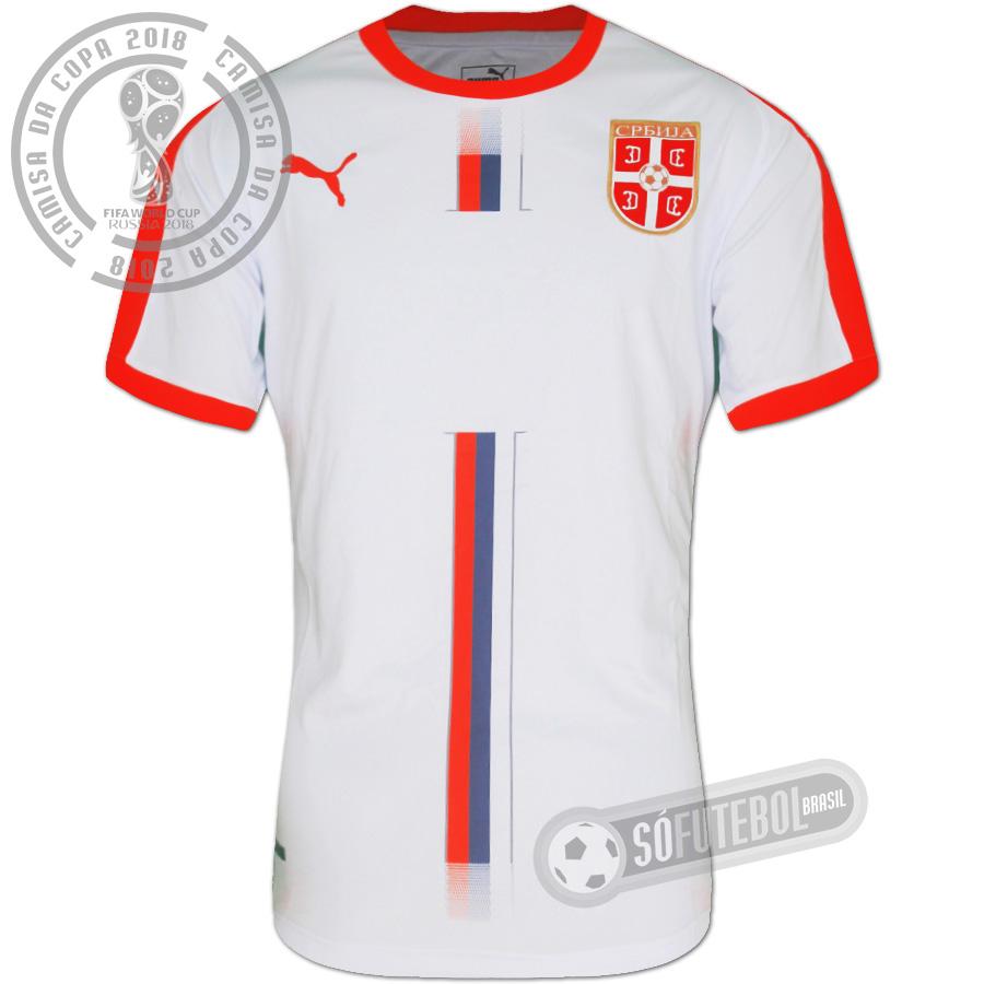 Camisa Sérvia - Modelo II. Carregando. 8355e6df383ab