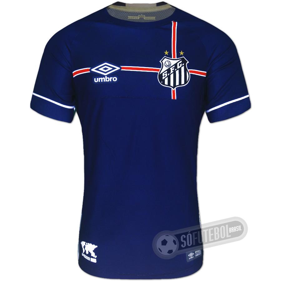 Camisa Santos - Modelo III - The Kingdom (Nations 2018 Inglaterra) 47a813319af14