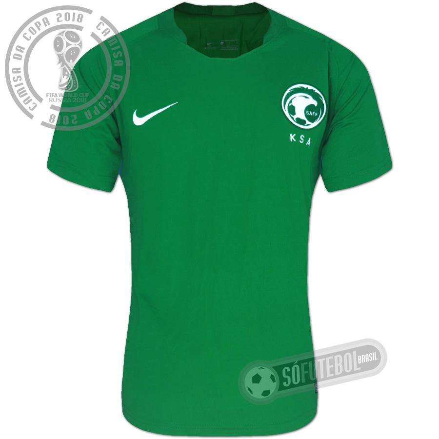 50be384f3 Camisa Arábia Saudita - Modelo II. Carregando.