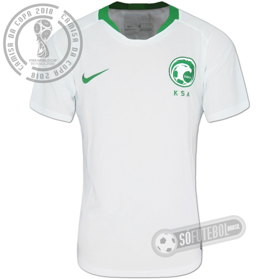 92363784f Camisa Arábia Saudita - Modelo I
