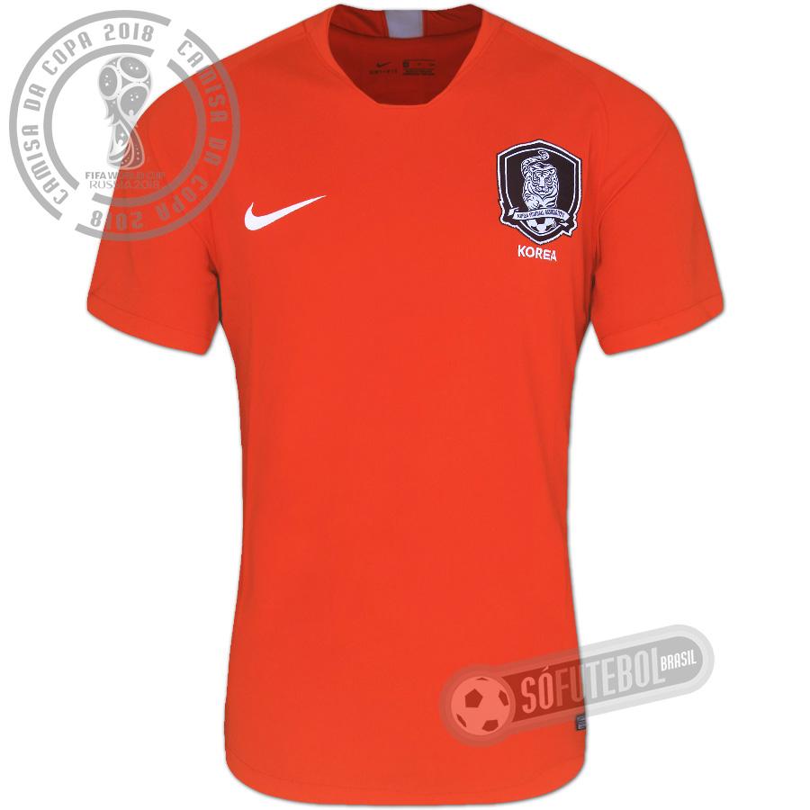 5838190a56 Camisa Coreia do Sul - Modelo I. Carregando.