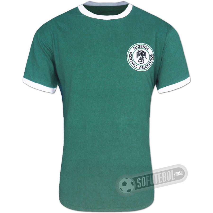 dfa394ba18a73 Camisa Nigéria 1976 - Modelo I. Carregando.