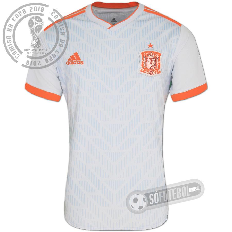 Camisa Espanha - Modelo II. Carregando. 90d4977cfd8d6