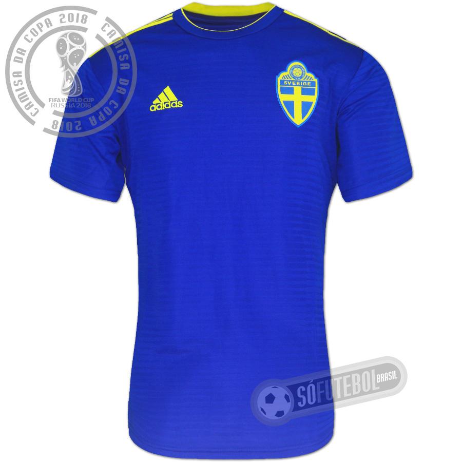 465b7830c0302 Camisa Suécia - Modelo II. Carregando.