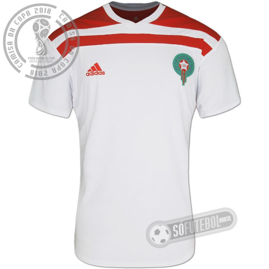 3ce2cfde69f0b Camisa Marrocos - Modelo II