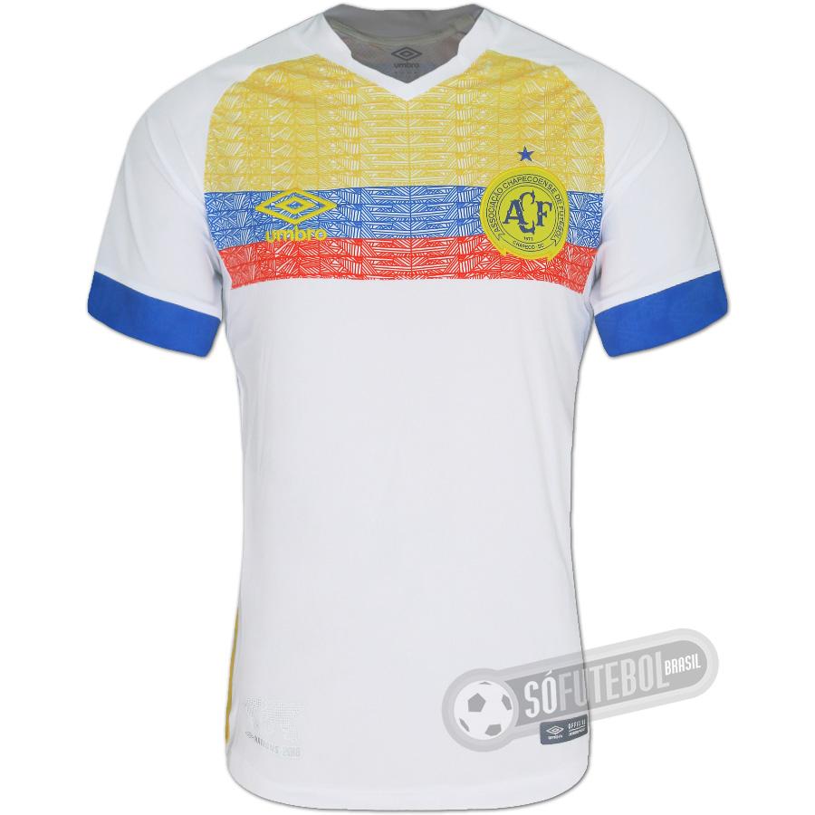 60a718e5e7 Camisa Chapecoense - Modelo III - La Pasión (Nations 2018 Colômbia).  Carregando.