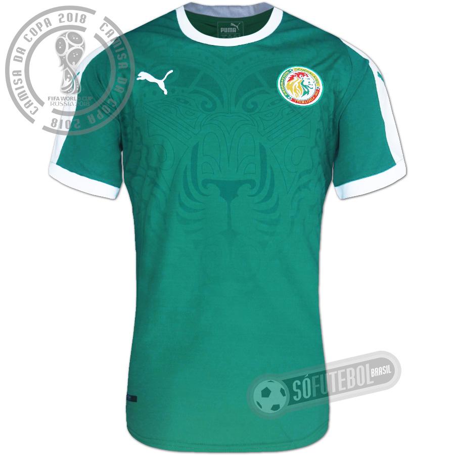 c81dea2811 Camisa Senegal - Modelo II. Carregando.
