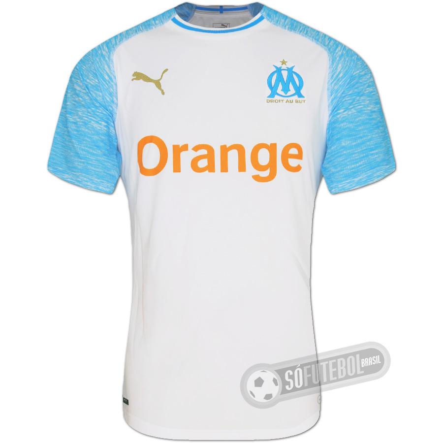 db12c0db6 Camisa Olympique de Marseille (Marselha) - Modelo I. Carregando.