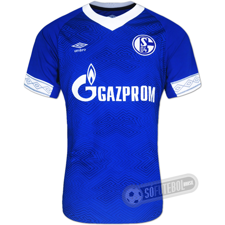 Camisa Schalke 04 - Modelo I 14eb2fe1de7ad