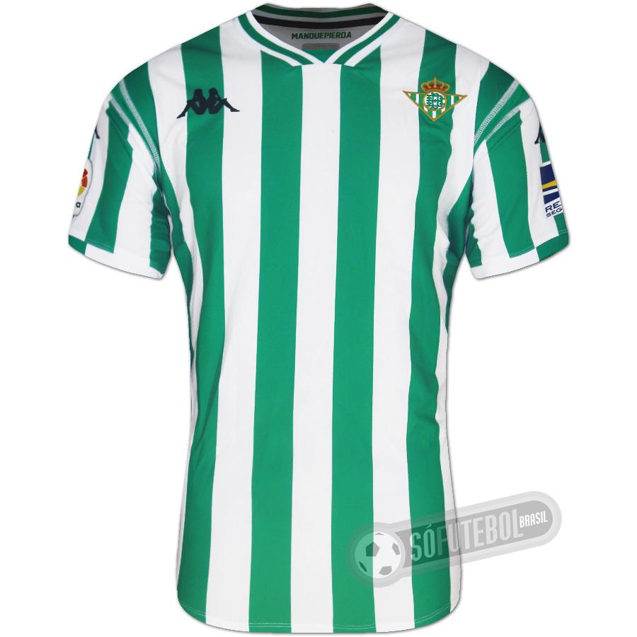 c2d0455eb4 Camisa Real Betis - Modelo I. Carregando.