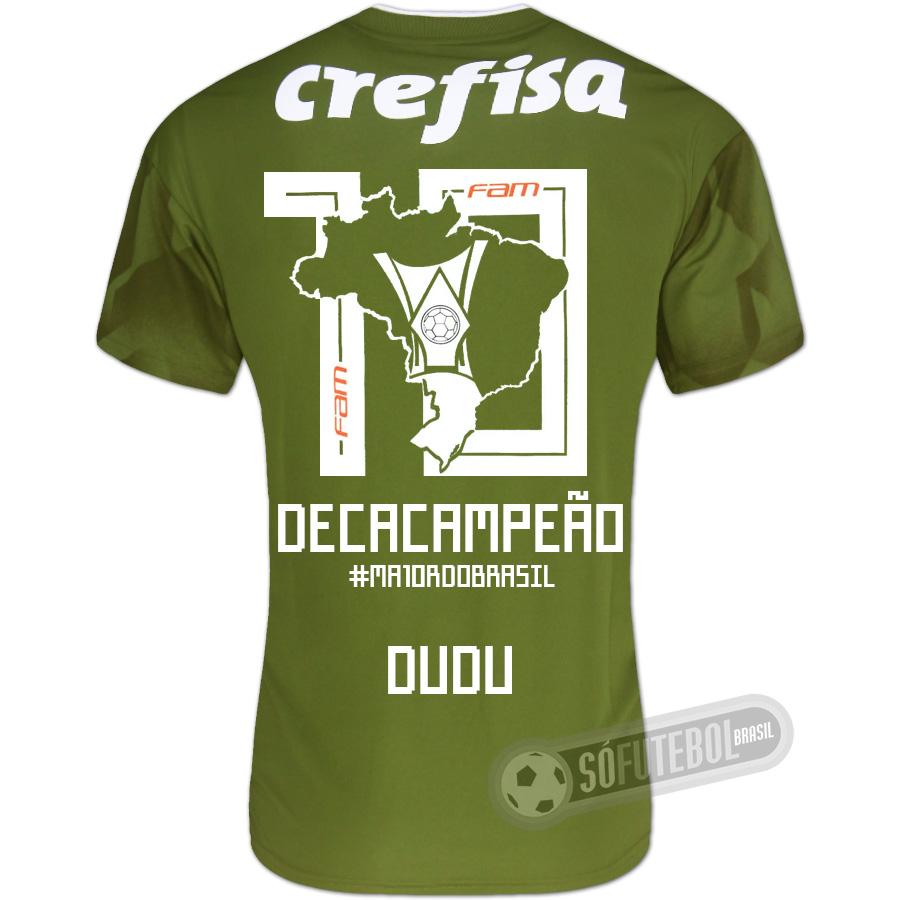 Camisa Palmeiras Edição Limitada (DUDU) - Decacampeão Brasileiro 29ffb3a9151a6