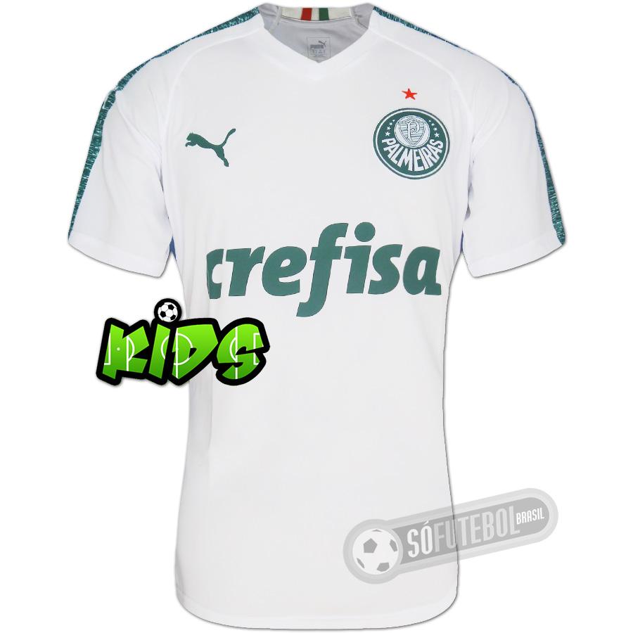 ef8a5a5304 Camisa Palmeiras - Modelo II Infantil. Carregando.
