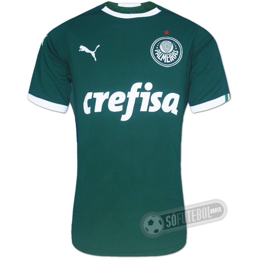 Camisa Palmeiras - Modelo I. Carregando. 8c7c1517695c6