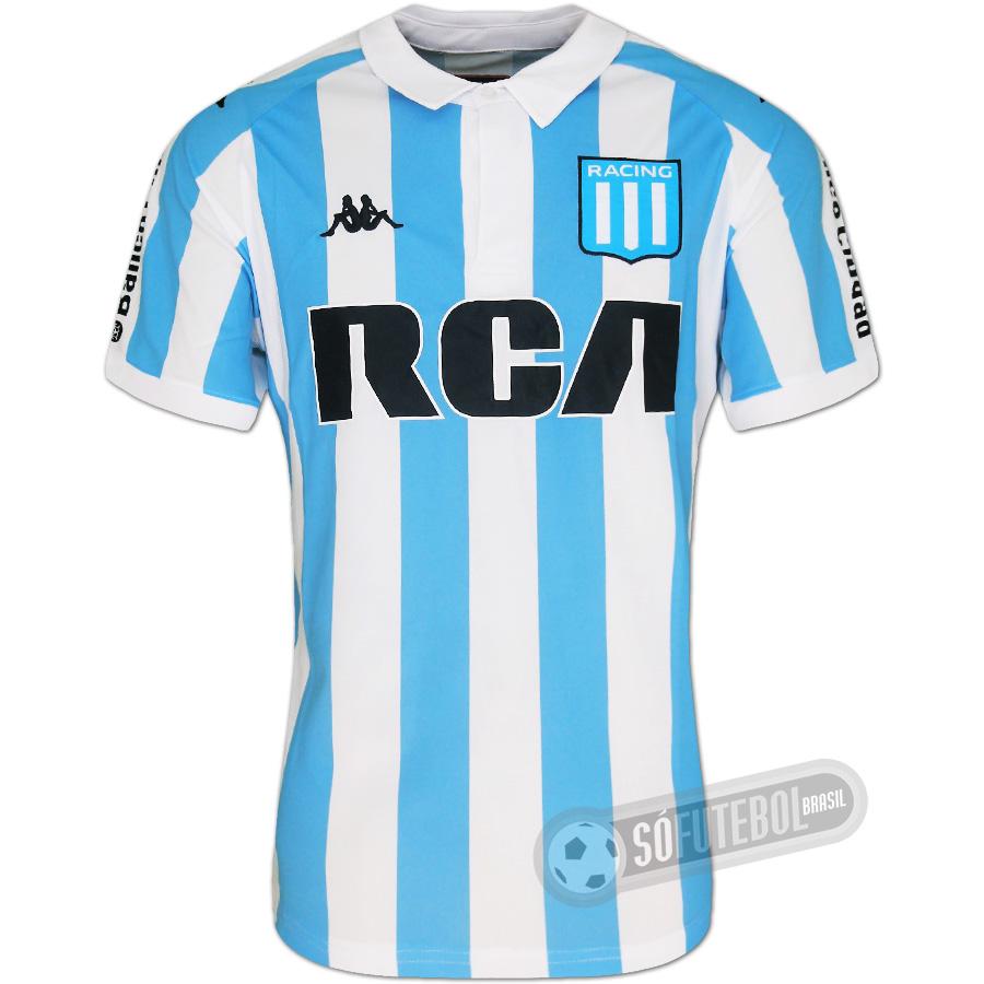 7f4a7e4c0 Camisa Racing Club de Avellaneda - Modelo I. Carregando.