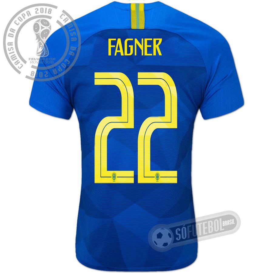 Camisa Brasil - Modelo II (FAGNER  22) 9d796927d6997
