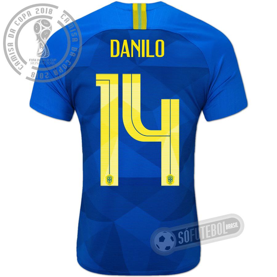 4355269af Camisa Brasil - Modelo II (DANILO  14). Carregando.